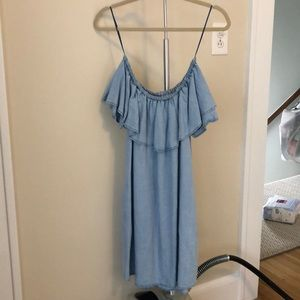 Zara off the shoulder dress